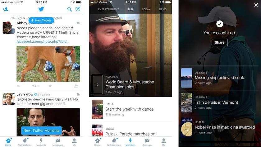 Twitter Moments debuts for curating tweets, topics, and events