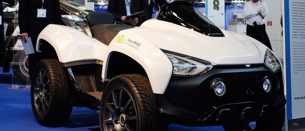 Acer reveals it's developing an electric ATV