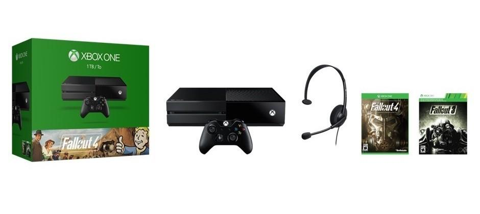 Latest Xbox One bundle comes with Fallout 4 and 3