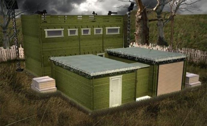 ZFC-1 anti-zombie cabin is fortified, ready for apocalypse