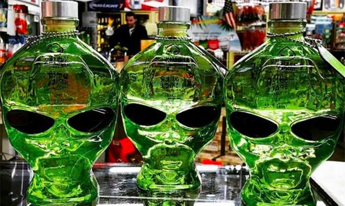 Outer Space Vodka has been filtered through meteorites