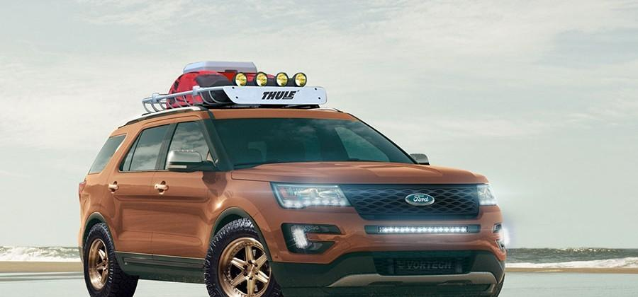 Ford Shows Off All Star Performance Explorer Sport ahead of SEMA