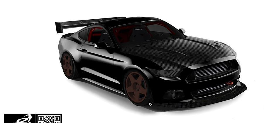 Bisimoto Engineering EcoBoost Mustang heads to SEMA with 900hp
