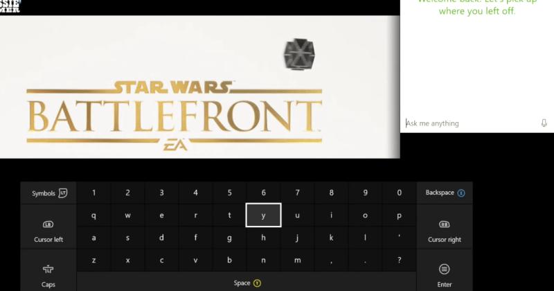 Cortana on Xbox One unlocked by special key combo