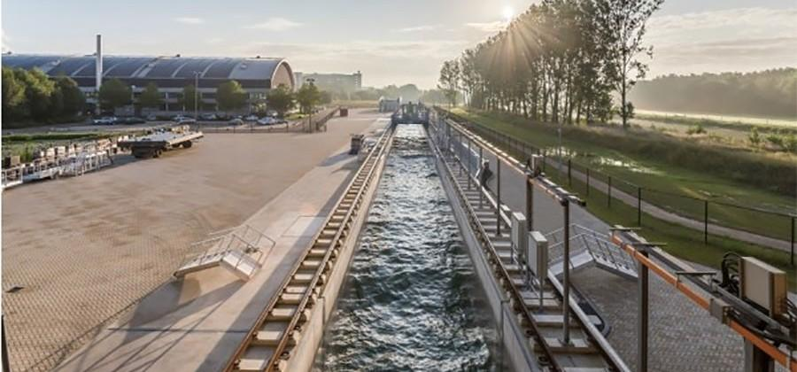 Delta Flume produces largest man-made waves in the world