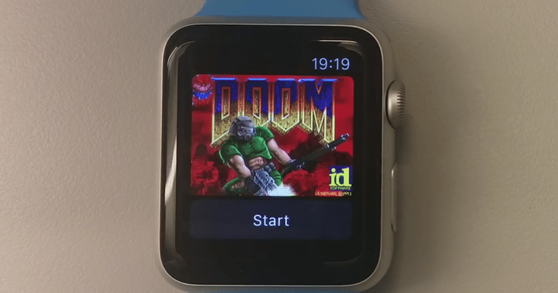 Apple Watch, Apple TV now run DOOM thanks to Facebook devs