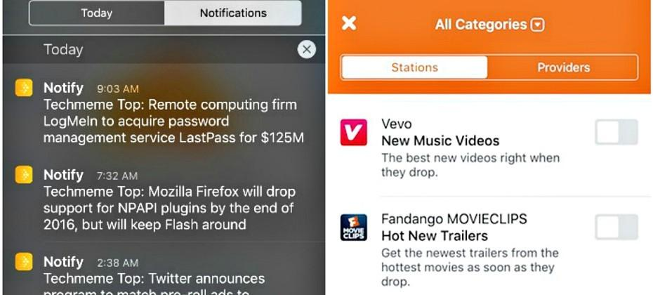 Notify is a Facebook app for real-time news