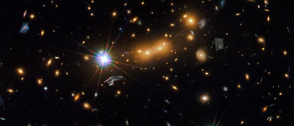 Hubble Spots The Final Frontier