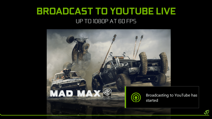 geforce-experience-early-access-share-beta-october-update-mad-max-youtube-streaming
