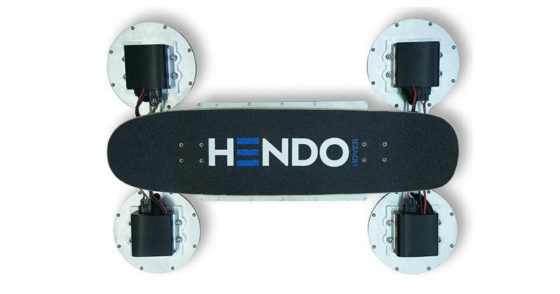 Hendo 2.0 hoverboard takes off on Back to the Future Day