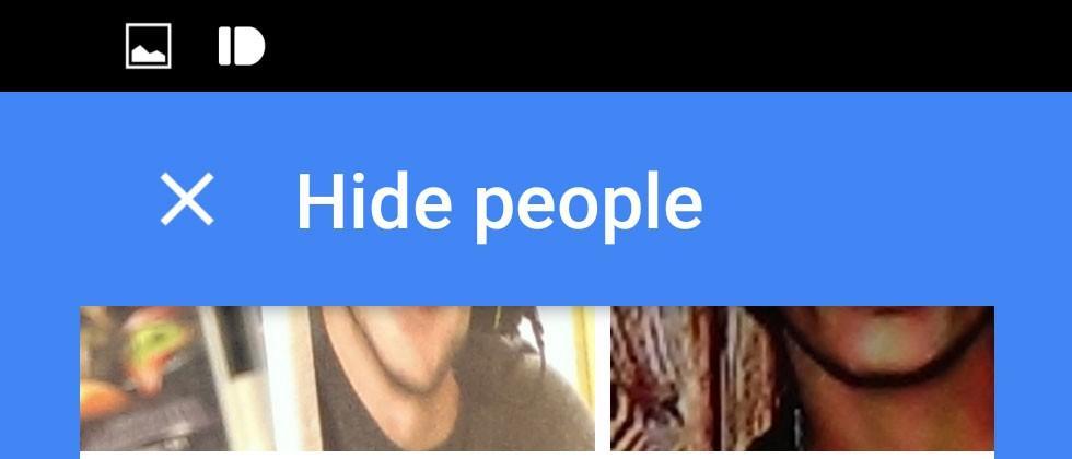Google Photos Update v1.8 lets you Hide People
