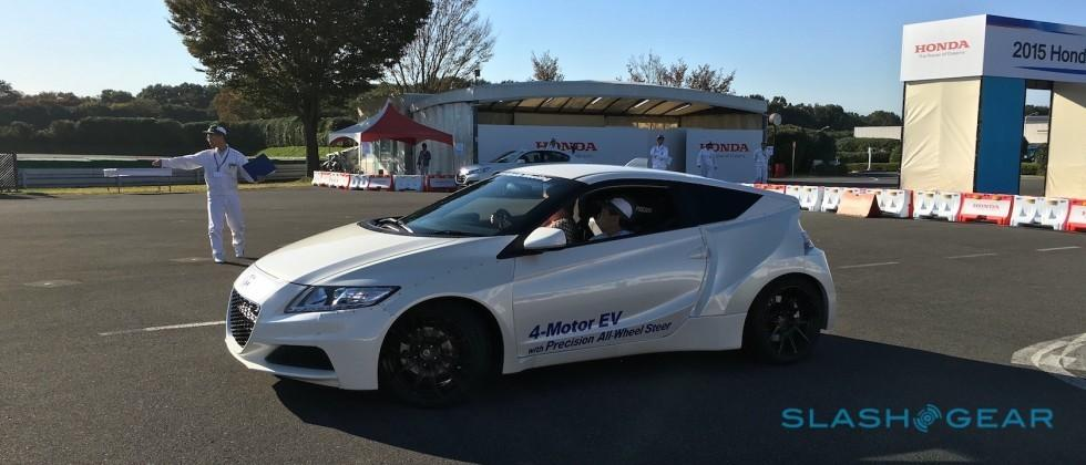 Driving this electric Honda was more fun than the new NSX