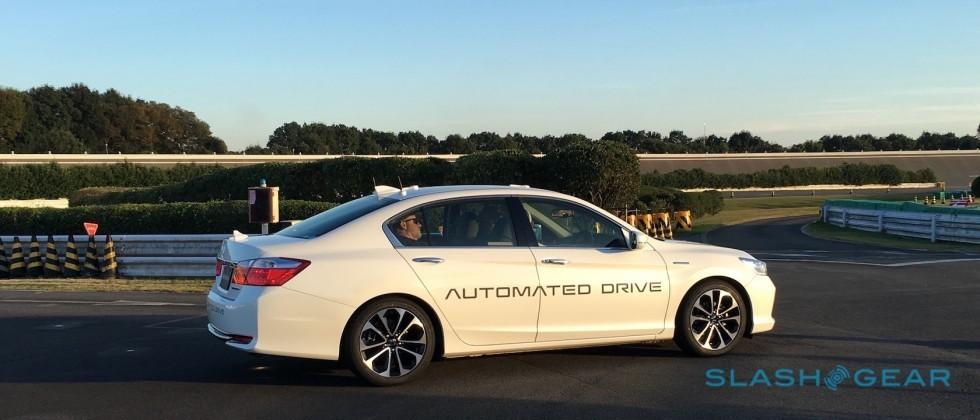 Testing Honda's tech for its 2020 self-driving car