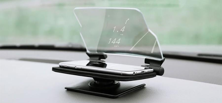 Hudway Glass gives you augmented reality nav on your windshield