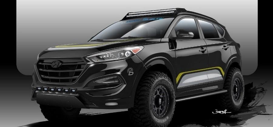Rockstar and Hyundai team to turn 2016 Tucson into SEMA show piece