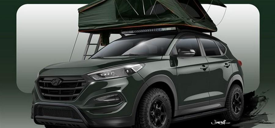 Hyundai Tucson Adventuremobile is ready for off-road shenanigans