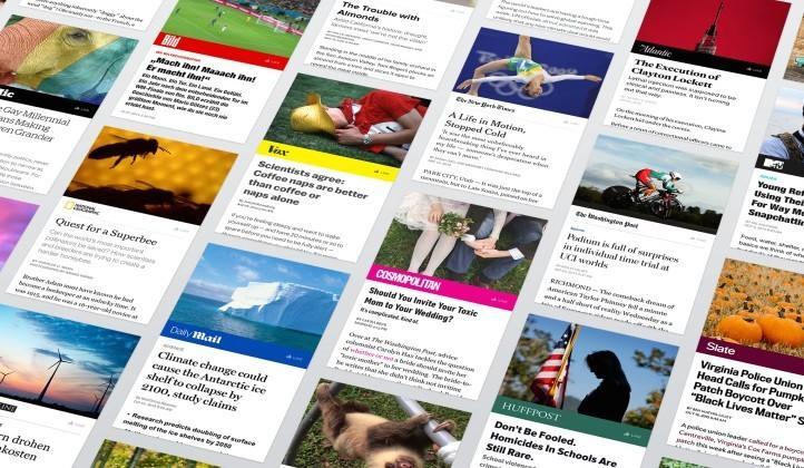 Facebook Instant Articles debut in iPhone app