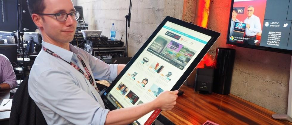 Lenovo YOGA Home 900 hands-on: Upgrade your table