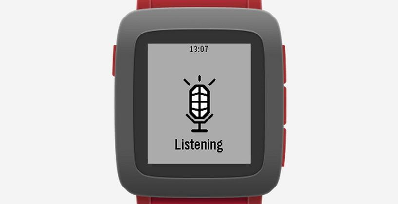 Pebble watches brings Nuance Voice Recognition to the public