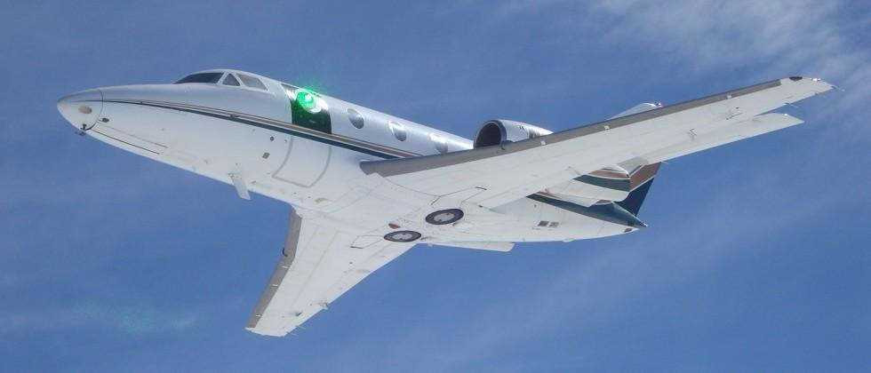 Lockheed Martin has been testing a jet-mounted laser turret