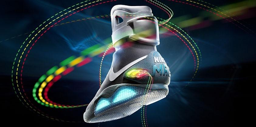 Back to the Future NIKE MAG self-lacing sneakers details emerging