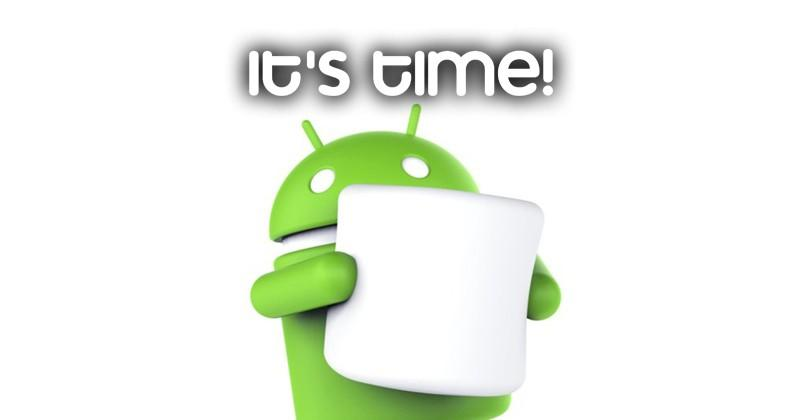 How to get your Android 6.0 Marshmallow update today