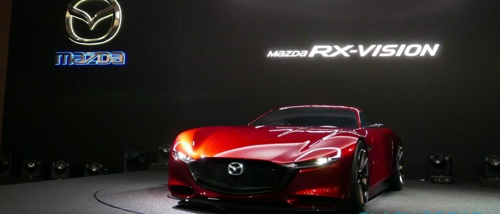 Gorgeous Mazda RX-Vision Concept puts Wankel back in spotlight