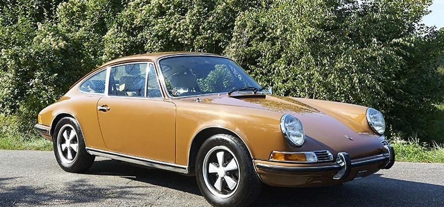 Steve McQueen driven '71 Porsche 911 T heads to auction
