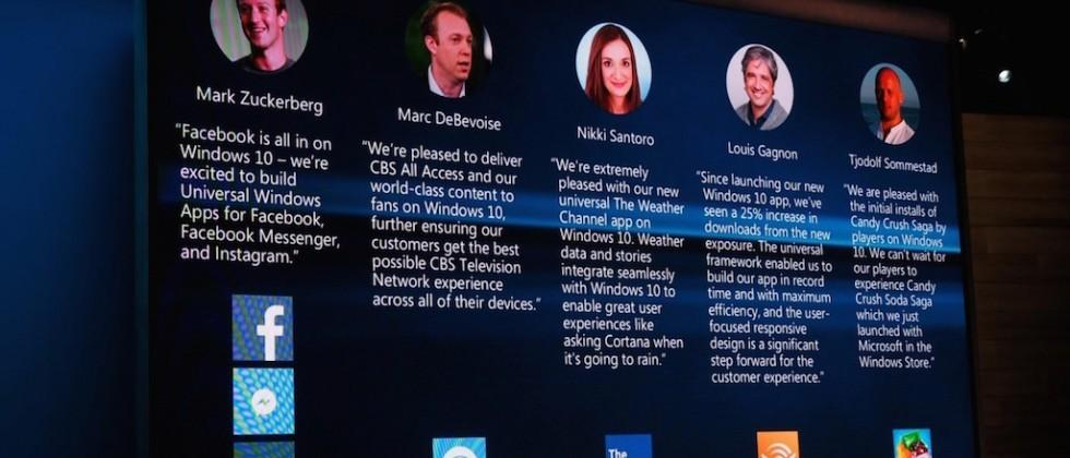 Native Facebook, Instagram, Messenger apps coming to Windows 10