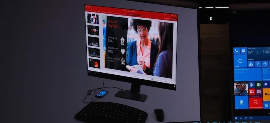Microsoft Display Dock turns Windows 10 phones into a desktop PC