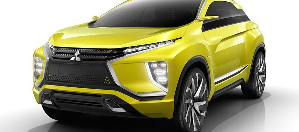 Mitsubishi eX Concept brings augmented reality to the windshield