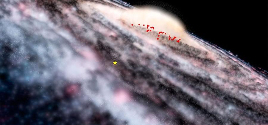 VISTA telescope discovers hidden young stars in the Milky Way