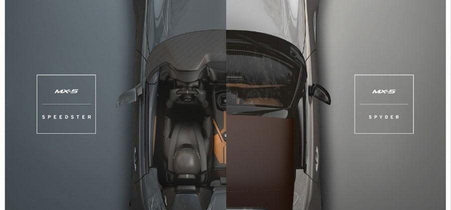 2016 Mazda MX-5 Spyder and Speedster focus on lightweight performance
