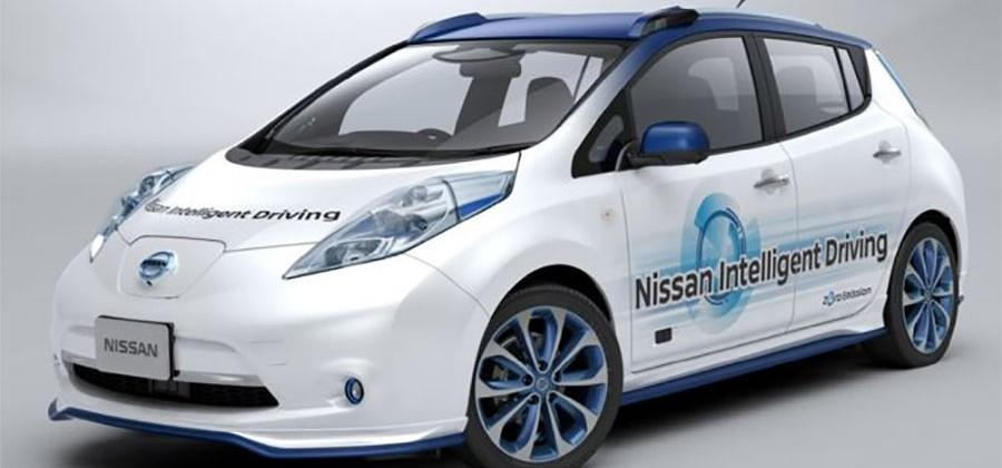Nissan autonomous vehicle testing kicks off in Japan