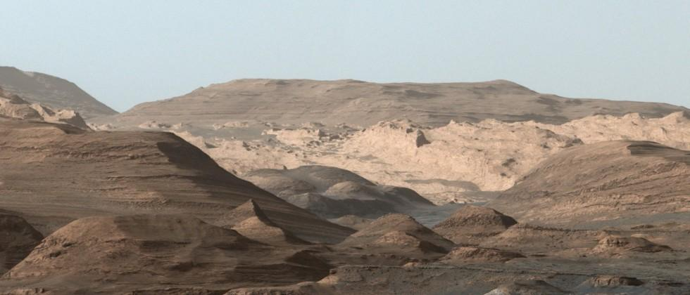 NASA's Curiosity takes photo of future stomping grounds