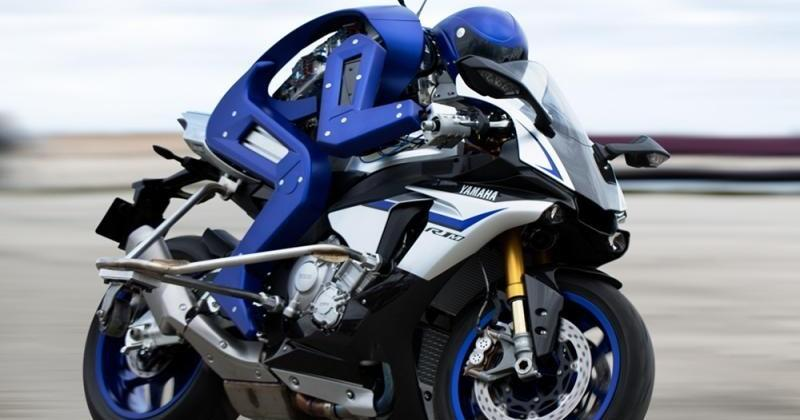 Yamaha's Motobot plans to unseat humans on superbikes