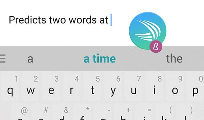 SwiftKey's next Beta predicts 2 words, closer to reading you mind