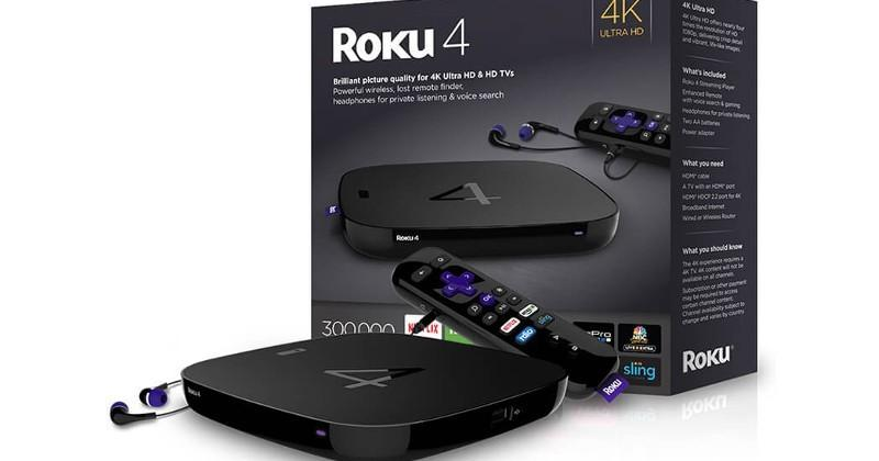 Roku 4 is now official: 4 is for 4K