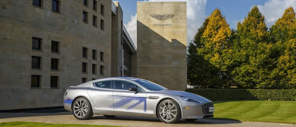 Aston Martin debuts all-electric RapidE concept