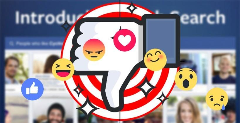 Facebook Reactions is as close to a Dislike button as we'll get (for now)