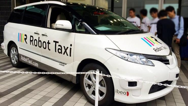 Self-driving taxis will be tested in Japan next year