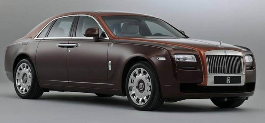 Rolls-Royce Ghost 1001 Nights is bespoke luxury