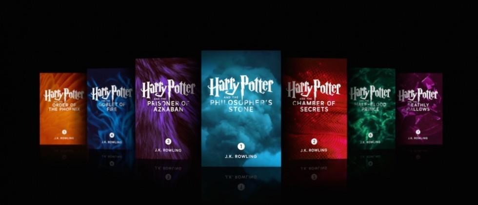 Harry Potter books come to Apple iBooks as enhanced editions
