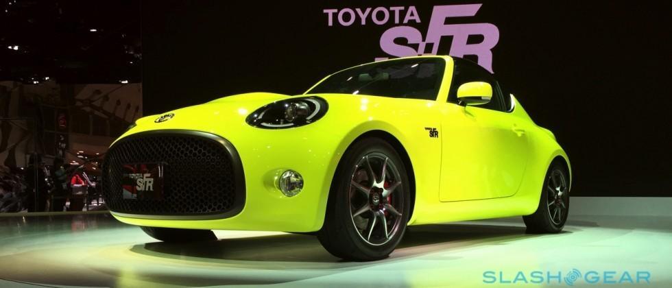 Toyota's SF-R is Toytown-cute Miata rival