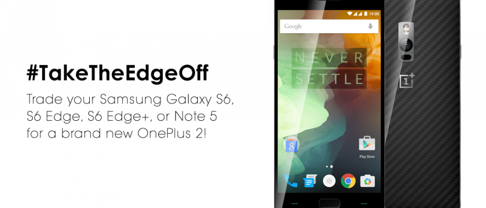 OnePlus asks 50 fans to trade in their Samsung flagships