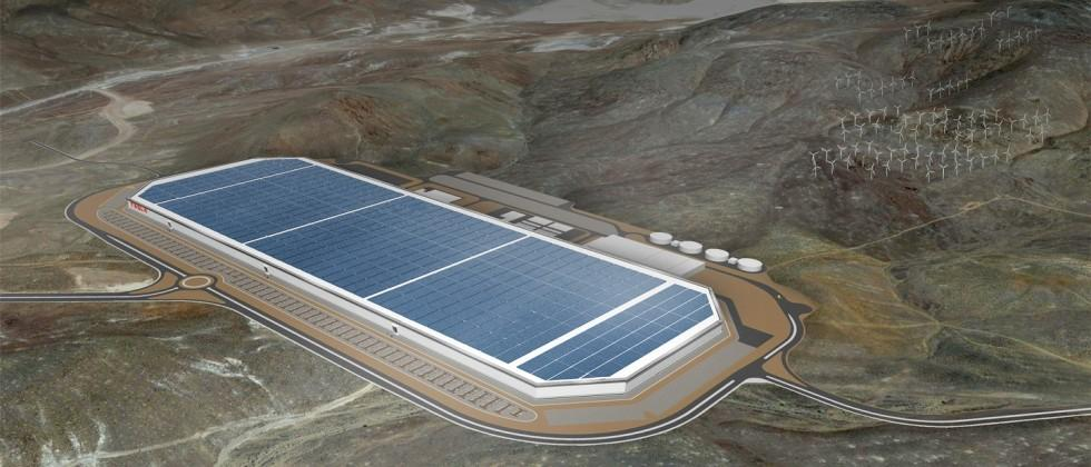 Tesla's Gigafactory is so intriguing, press are committing battery to get photos