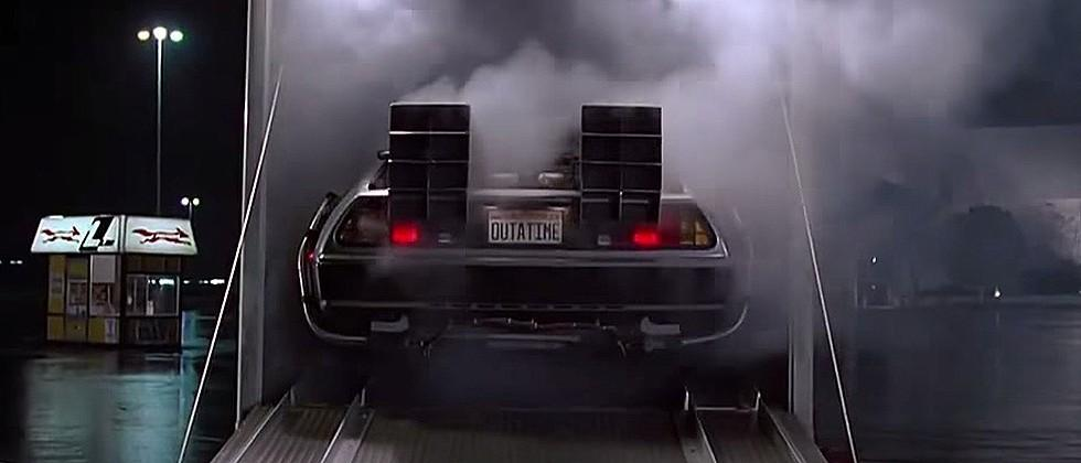 Back to the Future Delorean fully restored for 30th Anniversary