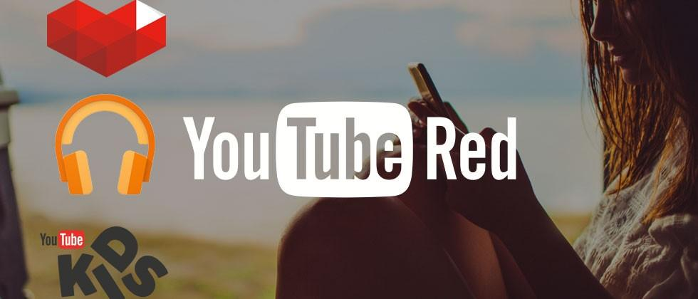 YouTube Red: subscription service for ad-free video and music