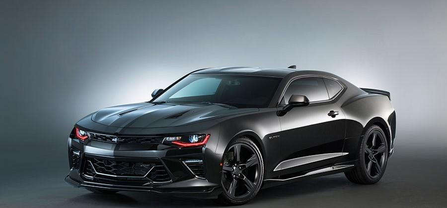 Chevy unveils custom Gen Six Camaros and Copo Camaro at SEMA