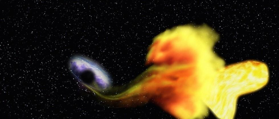 Scientists discover star-swallowing black hole
